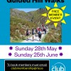 Guided Hill Walks – 28 May & 25 June
