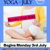 NEW! Prenatal Yoga Classes for July – starts Monday 3rd