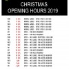 Club Christmas Opening Hours